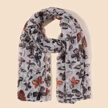 Schal mit Schmetterling Muster