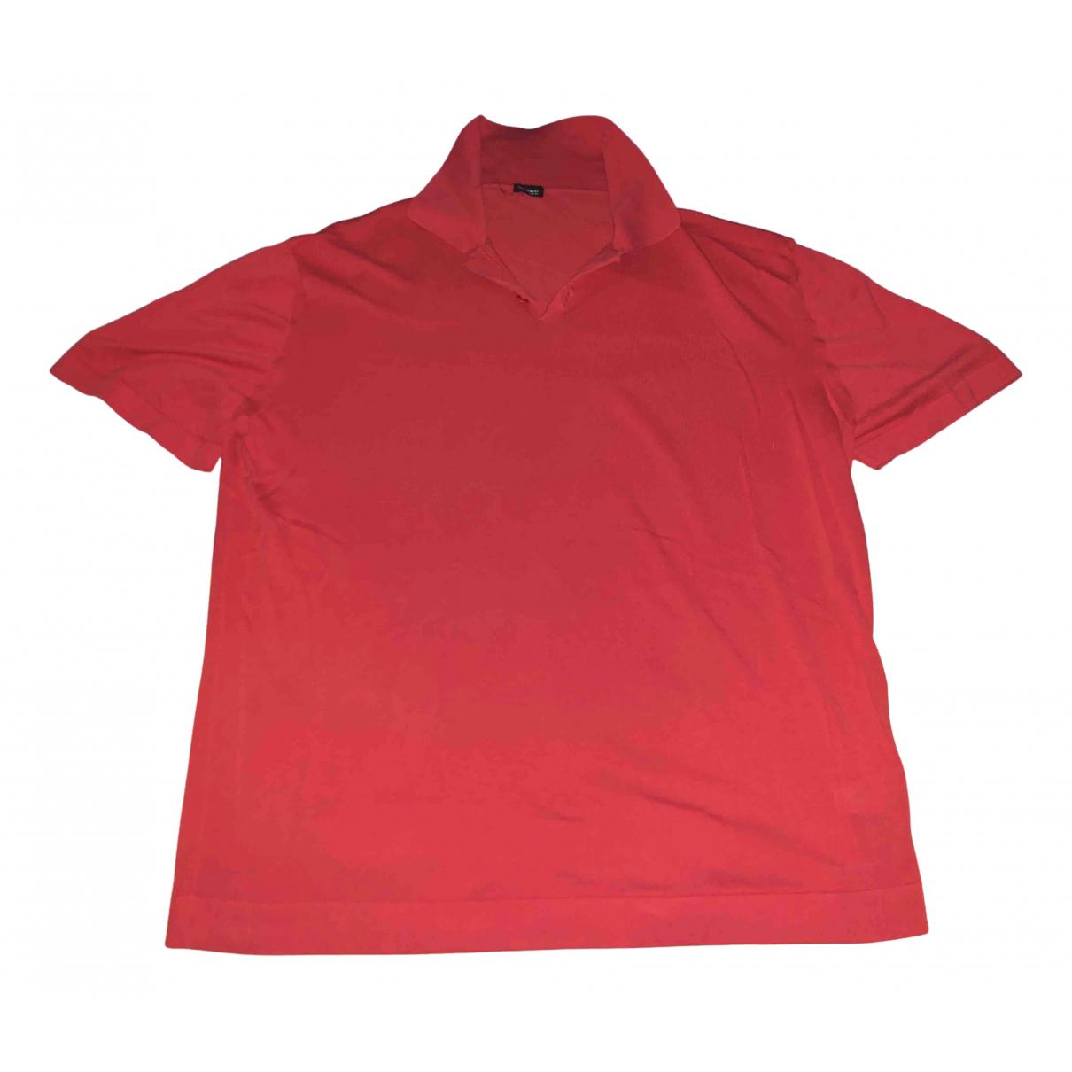 Polo en Algodon Rojo Kiton