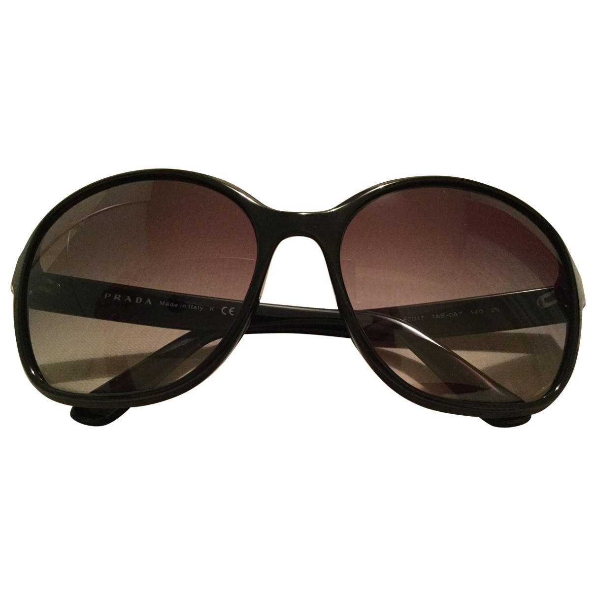 Prada \N Sonnenbrillen in  Schwarz Kunststoff