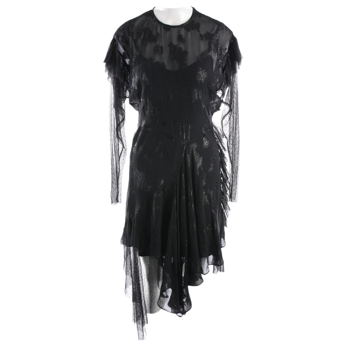 Preen By Thornton Bregazzi - Robe   pour femme en soie - noir