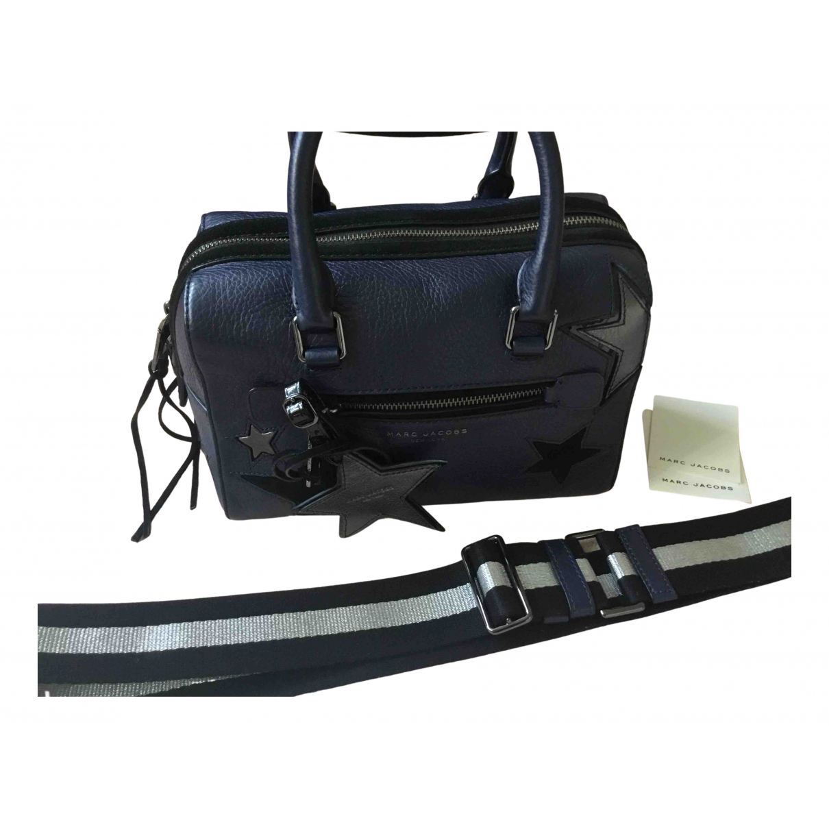 Marc Jacobs N Blue Leather handbag for Women N