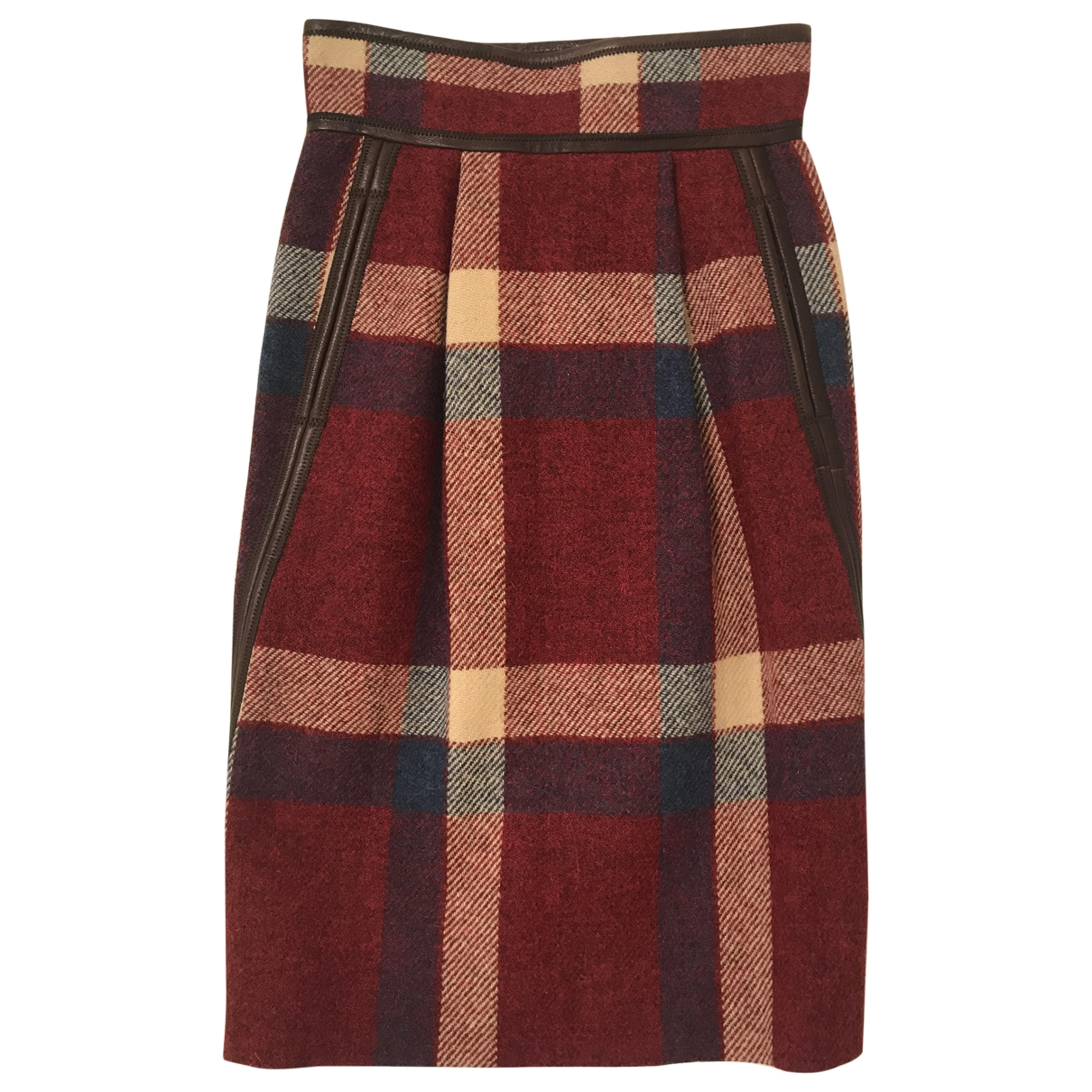 Dsquared2 - Jupe   pour femme en laine - multicolore