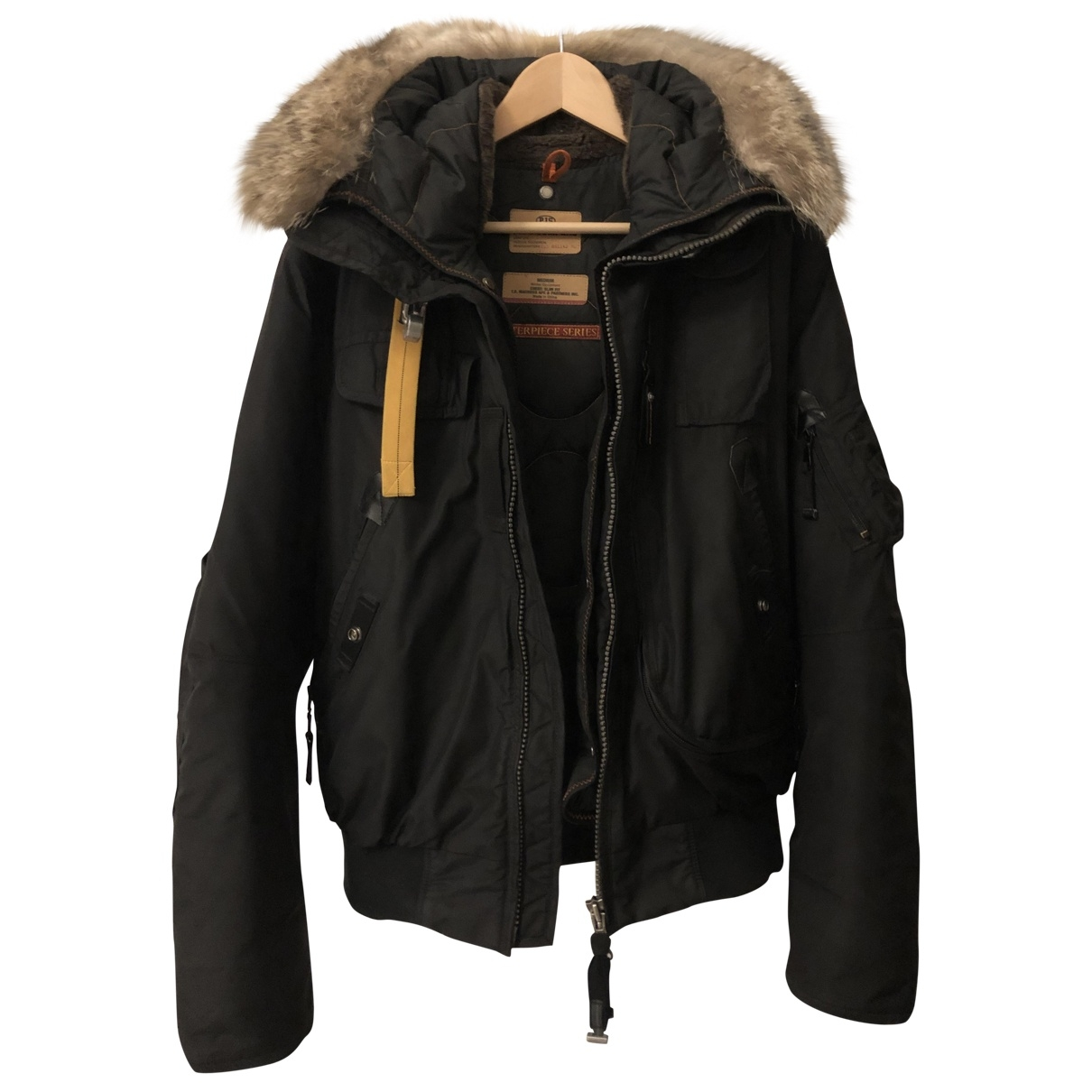 Parajumpers \N Jacke in  Schwarz Polyester