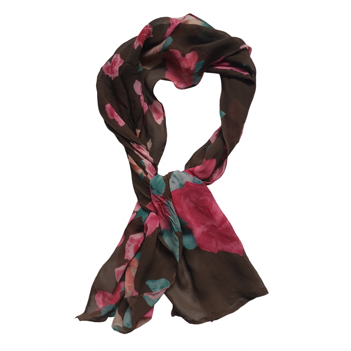 Gianni Versace \N Pink Silk scarf for Women \N