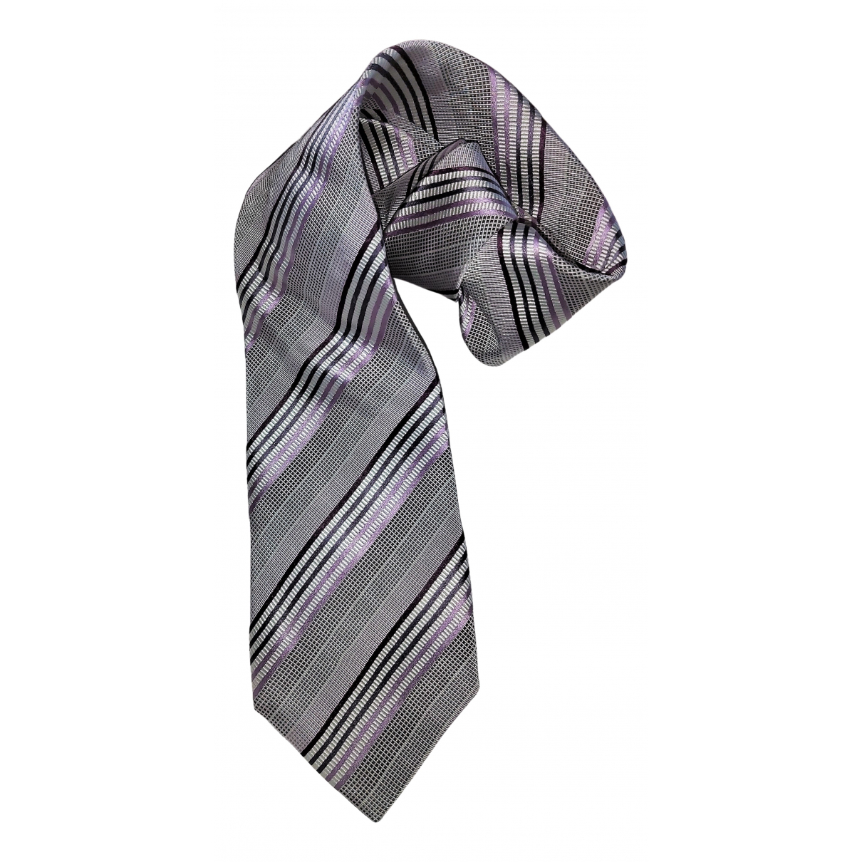 Ermenegildo Zegna \N Grey Silk Ties for Men \N
