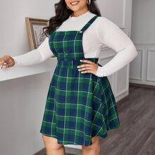 Kleid mit Karo Muster