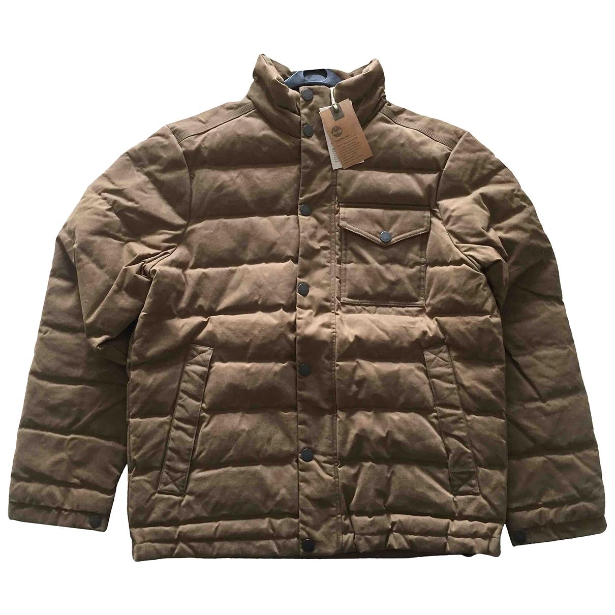 Timberland - Vestes.Blousons   pour homme en coton - marron