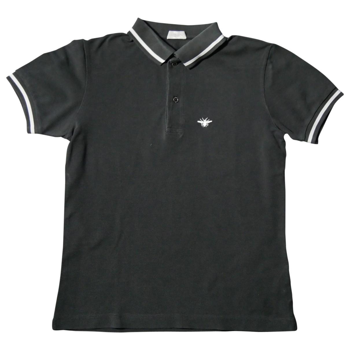 Dior Homme \N Poloshirts in  Schwarz Baumwolle