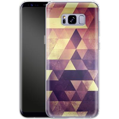 Samsung Galaxy S8 Plus Silikon Handyhuelle - Myyk Lyyv von Spires