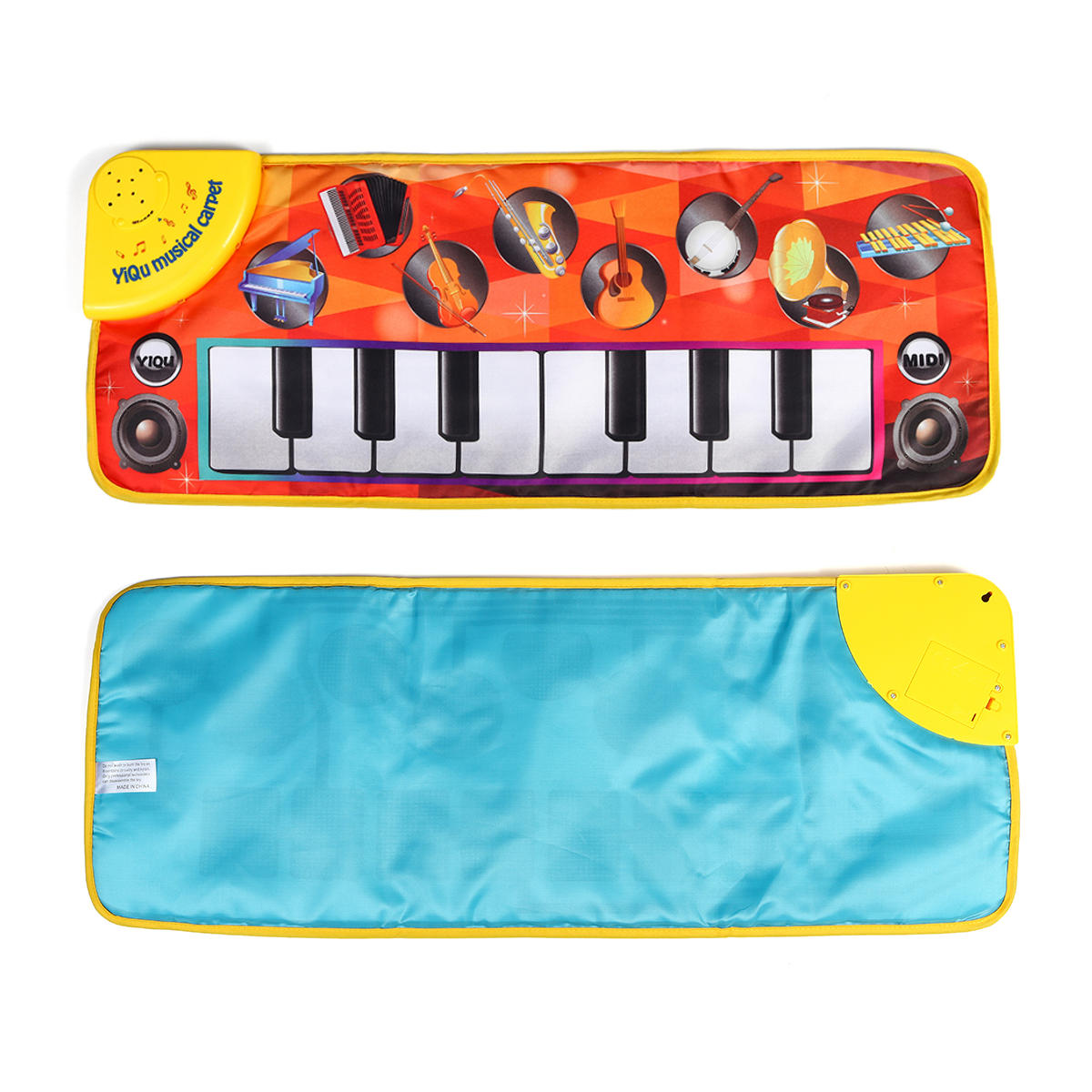 72 x 28CM Baby Soft Music Mat Child Crawling Piano Carpet Musical Kids Toys Gift