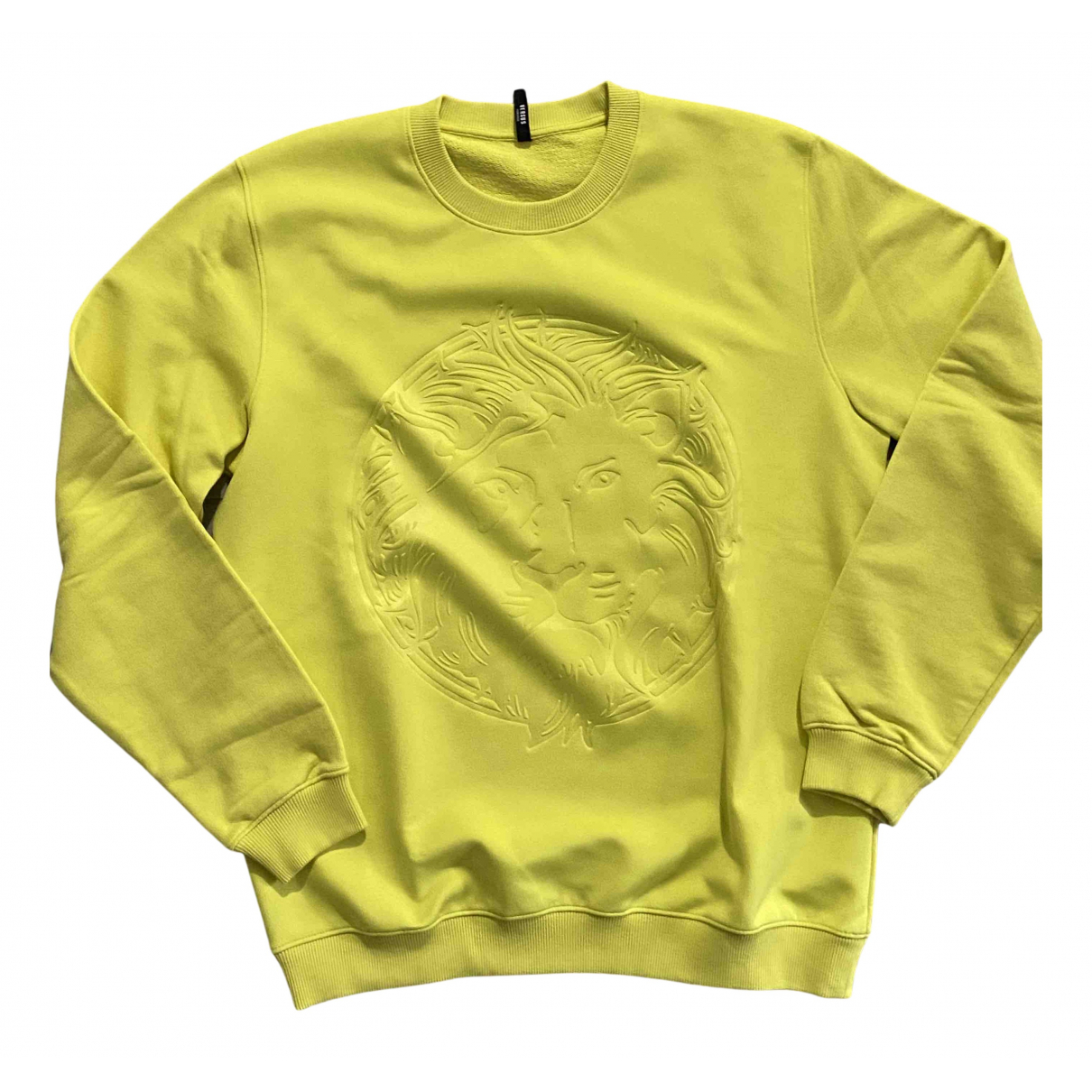 Versus \N Pullover.Westen.Sweatshirts  Gelb