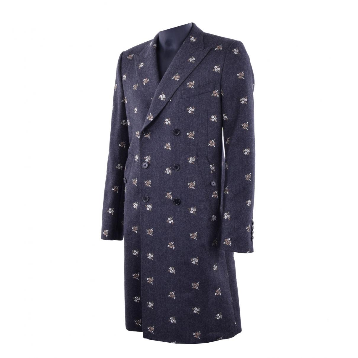 Dolce & Gabbana \N Grey Wool coat  for Men 50 IT