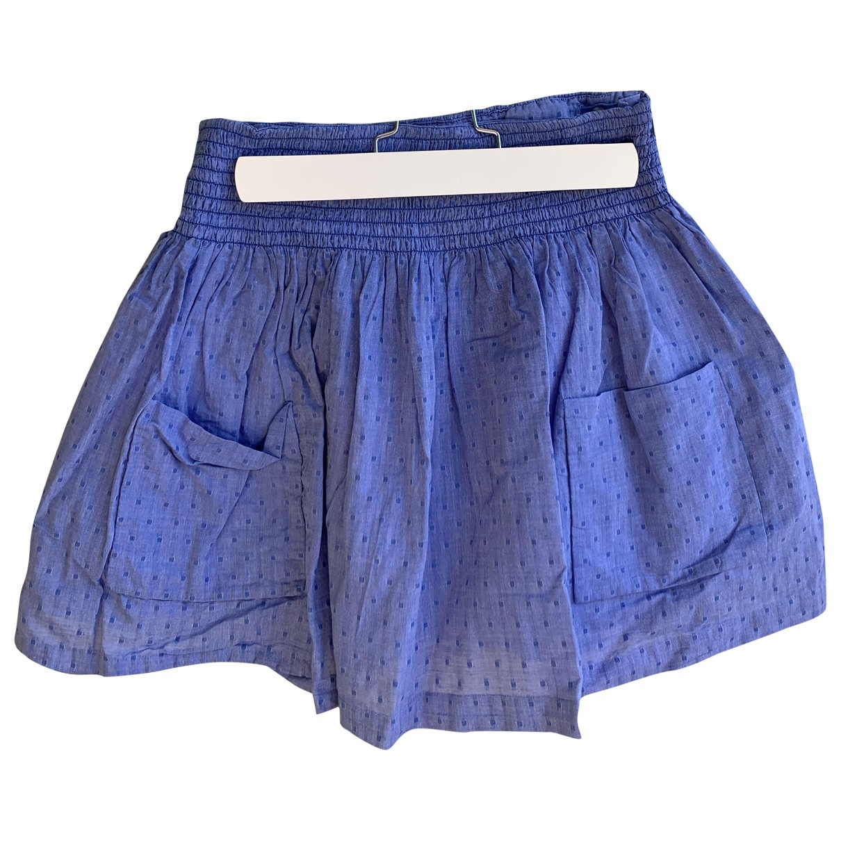 Jacadi \N Blue Cotton skirt for Kids 12 years - XS FR