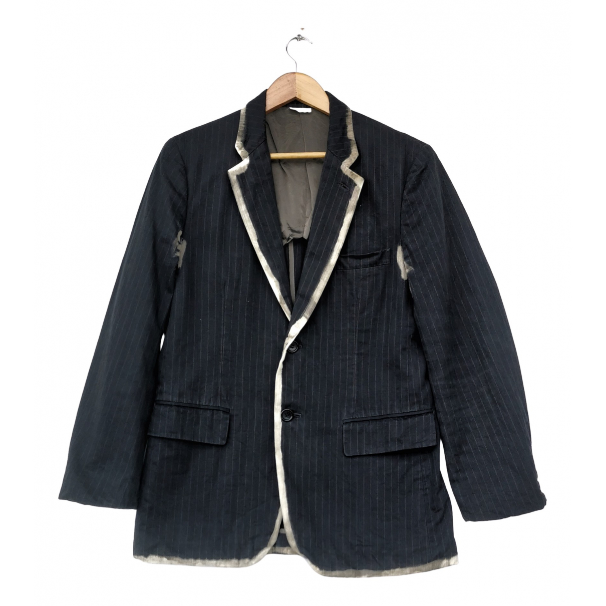 Comme Des Garcons N Black Cotton jacket  for Men S International