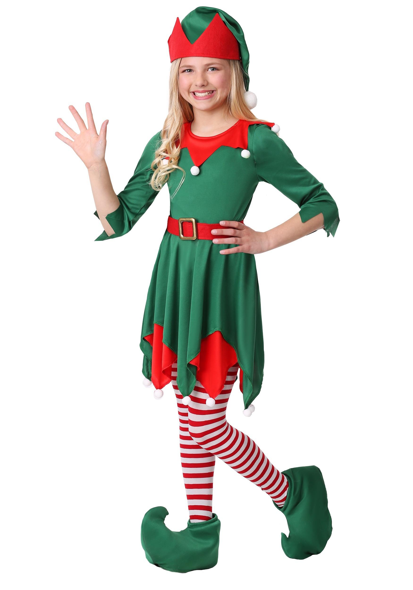 Santa's Helper Costume for Girls