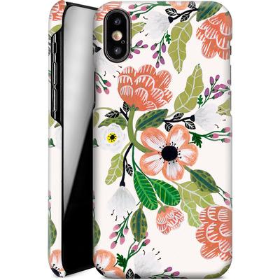 Apple iPhone X Smartphone Huelle - Botanical Dream von Iisa Monttinen