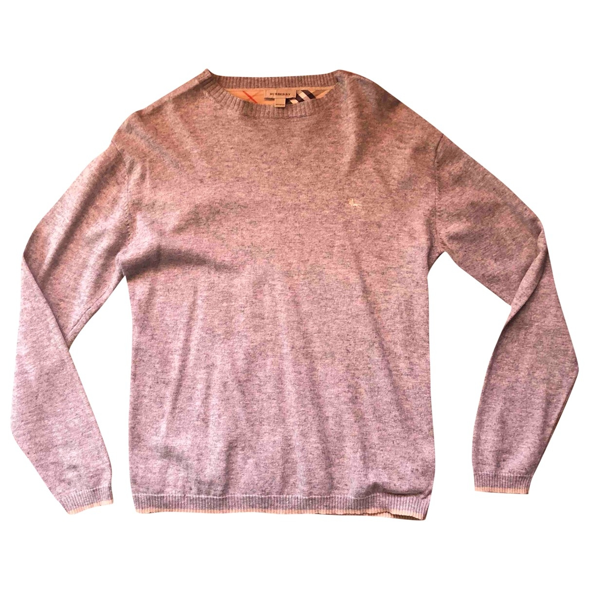 Burberry \N Grey Cotton Knitwear for Kids 16 years - M UK