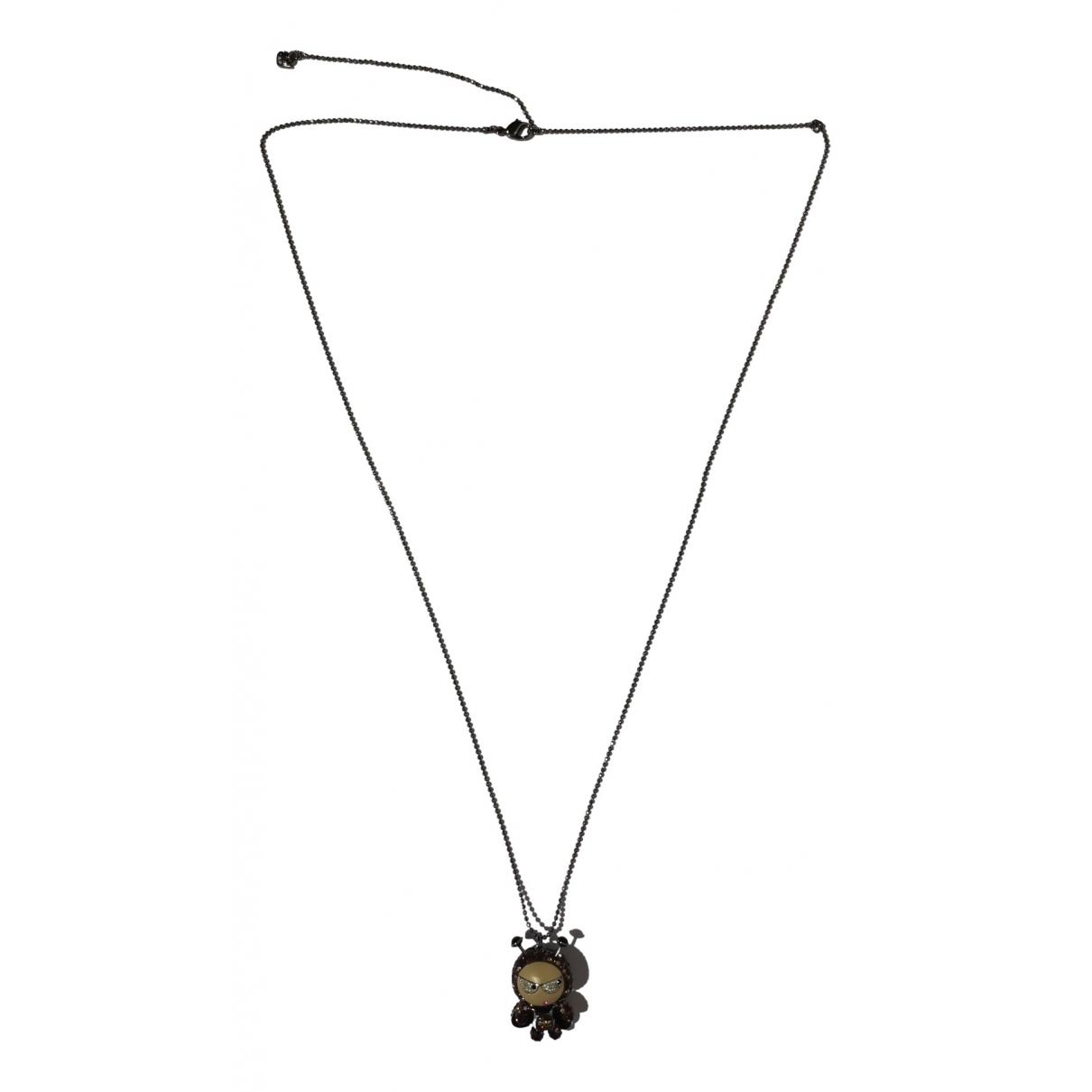 Swarovski - Collier   pour femme en metal - marron
