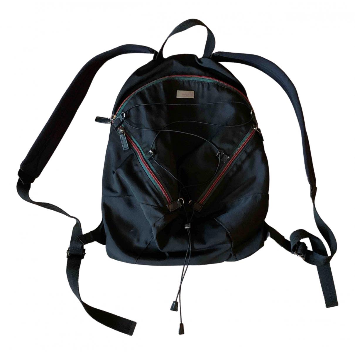 Gucci \N Black backpack for Women \N