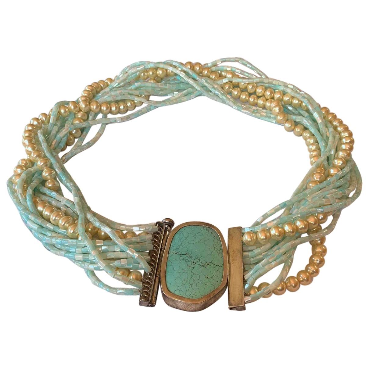 - Collier Turquoises pour femme en argent - bleu