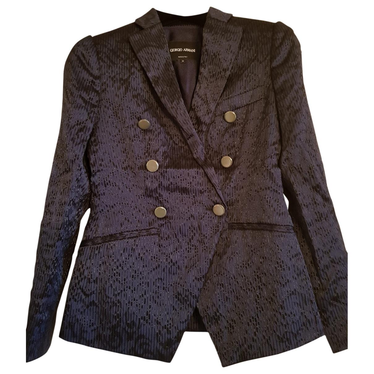 Giorgio Armani \N Blue jacket for Women 38 IT