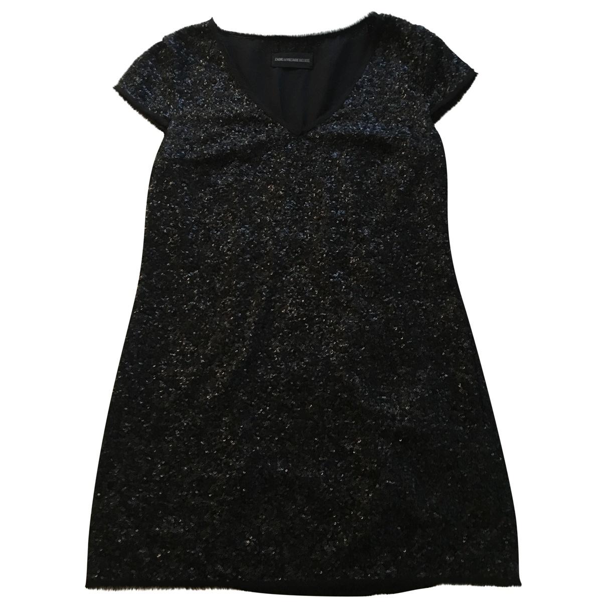 Zadig & Voltaire \N Black Glitter dress for Women M International