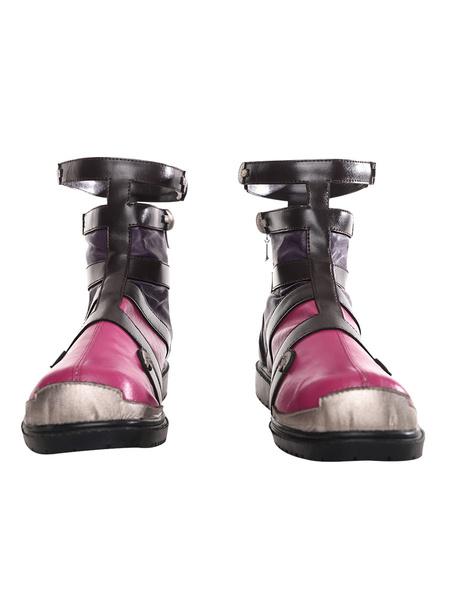 Milanoo Xenoblade Chronicles Shulk Shoes Cosplay Boots