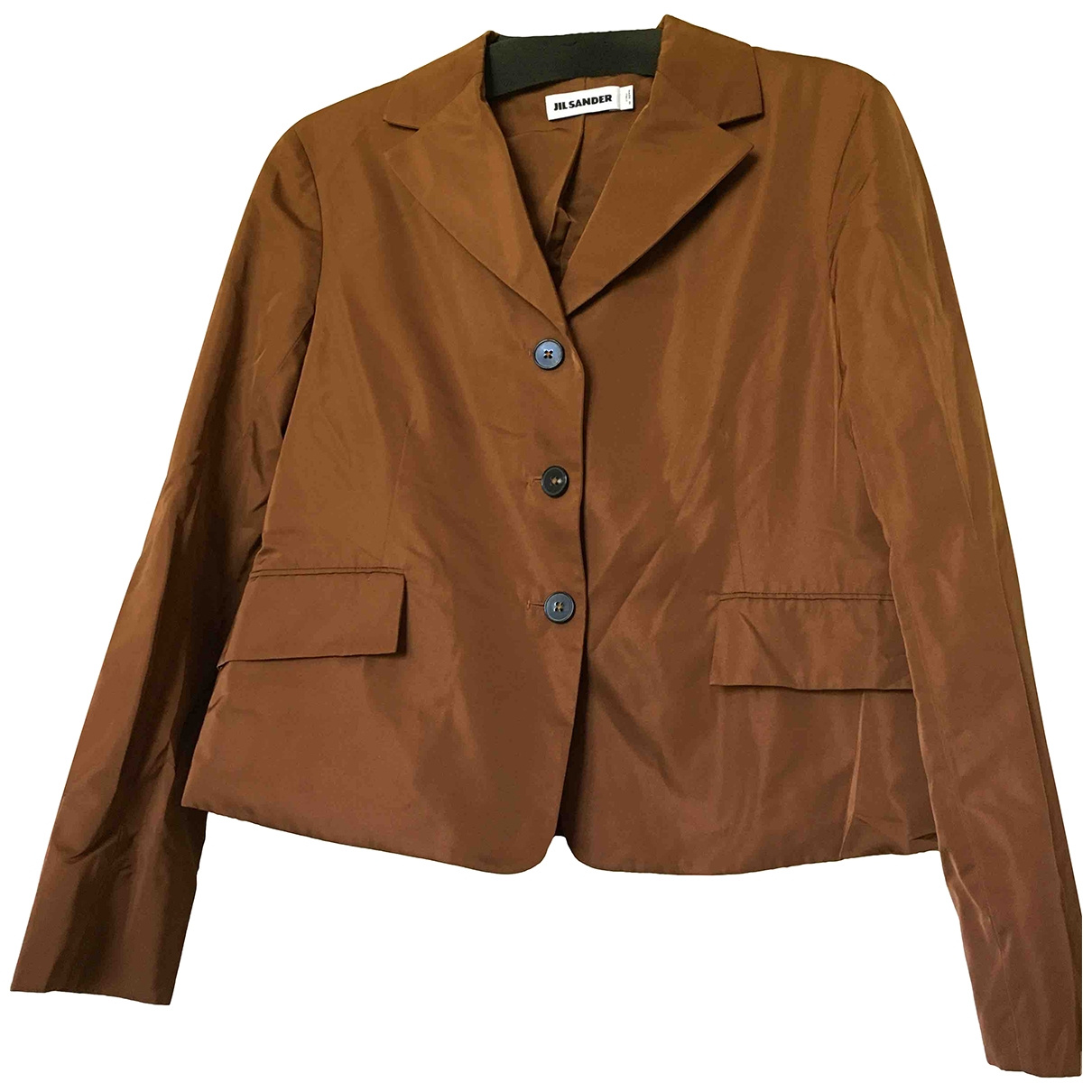 Jil Sander \N Brown jacket for Women 38 IT