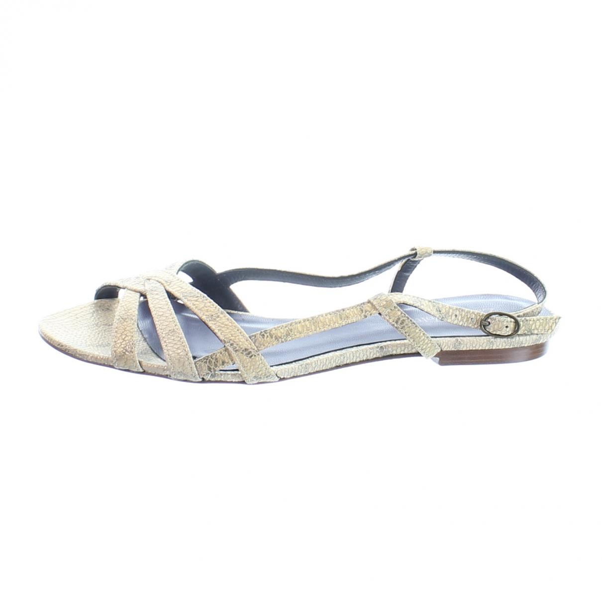 Zadig & Voltaire \N Beige Leather Sandals for Women 35 EU