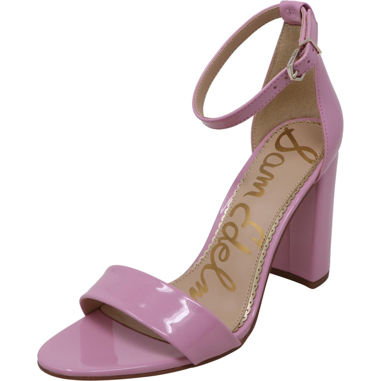 Sam Edelman Women's Yaro Patent Pink Orchid Ankle-High Heel - 9.5M