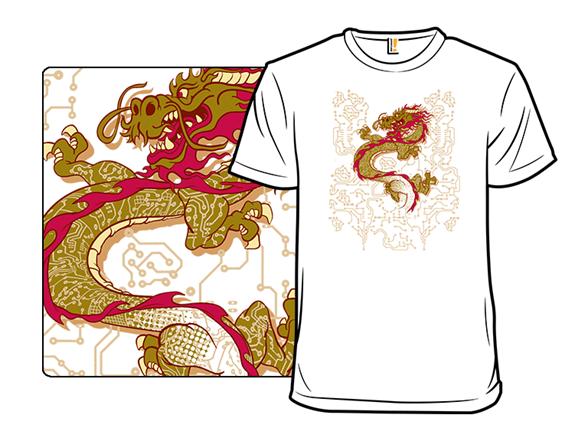 Circuit Dragon Remix T Shirt