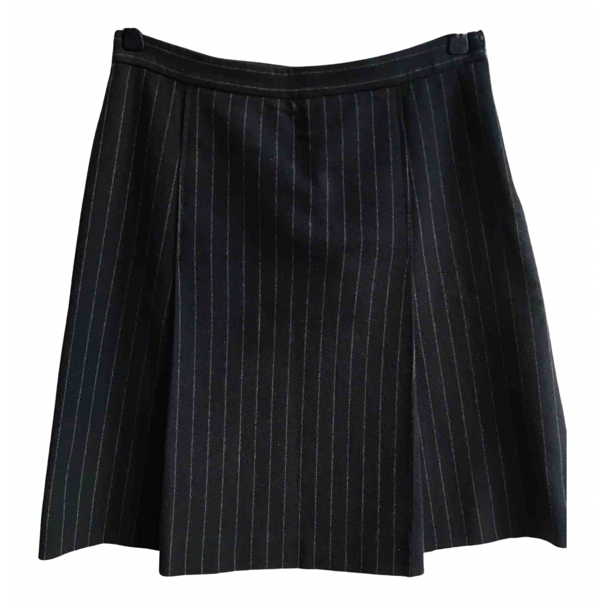 Moschino Cheap And Chic \N Navy Wool skirt for Women 42 IT