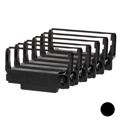 Compatible Epson ERC38 Black Ribbon - 6/Pack