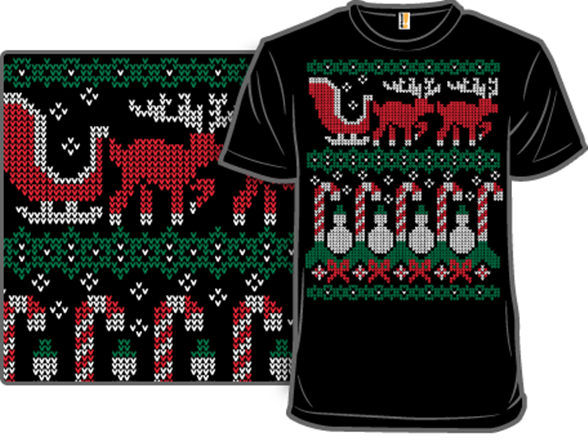 Ugly Holiday Sweater: 2010 T Shirt