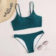 Bikini Badeanzug mit verstellbaren Riemen