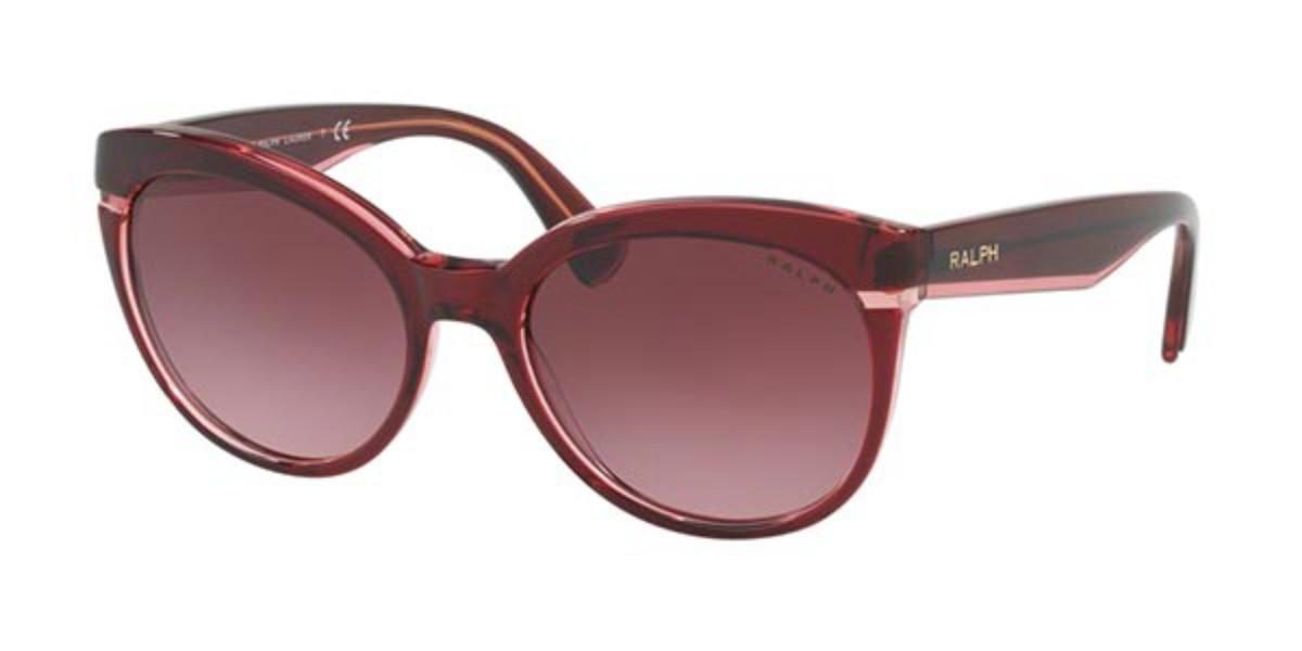 Ralph by Ralph Lauren RA5238 16988H Women's Sunglasses Burgundy Size 55