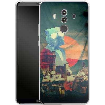 Huawei Mate 10 Pro Silikon Handyhuelle - Abracadabra von Ali Gulec