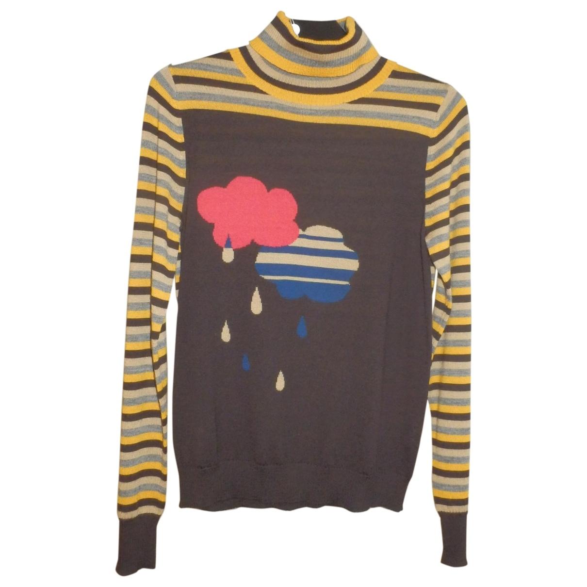 Cacharel - Pull   pour femme en laine - multicolore
