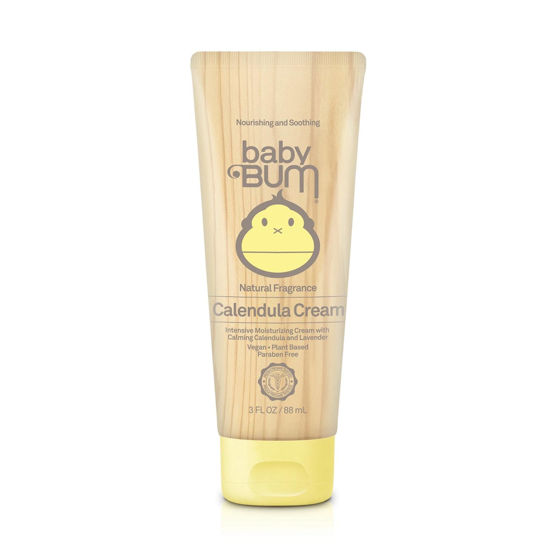 Sun Bum baby Bum Calendula Cream [Natural Fragrance] (3.0 fl oz / 88 ml)