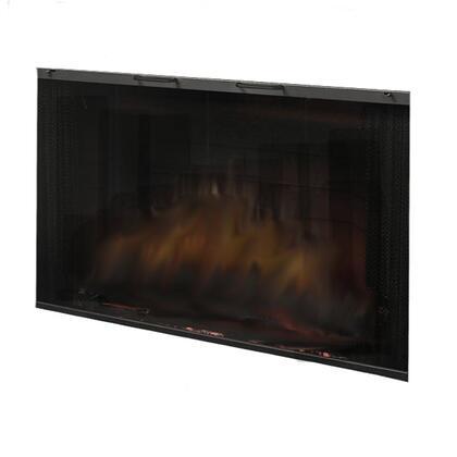BFGlass45BLK Single Pane Tamperproof Glass Door for 45