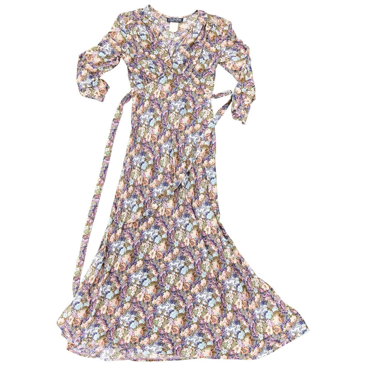 Non Signé / Unsigned \N Multicolour Cotton dress for Women 6 US