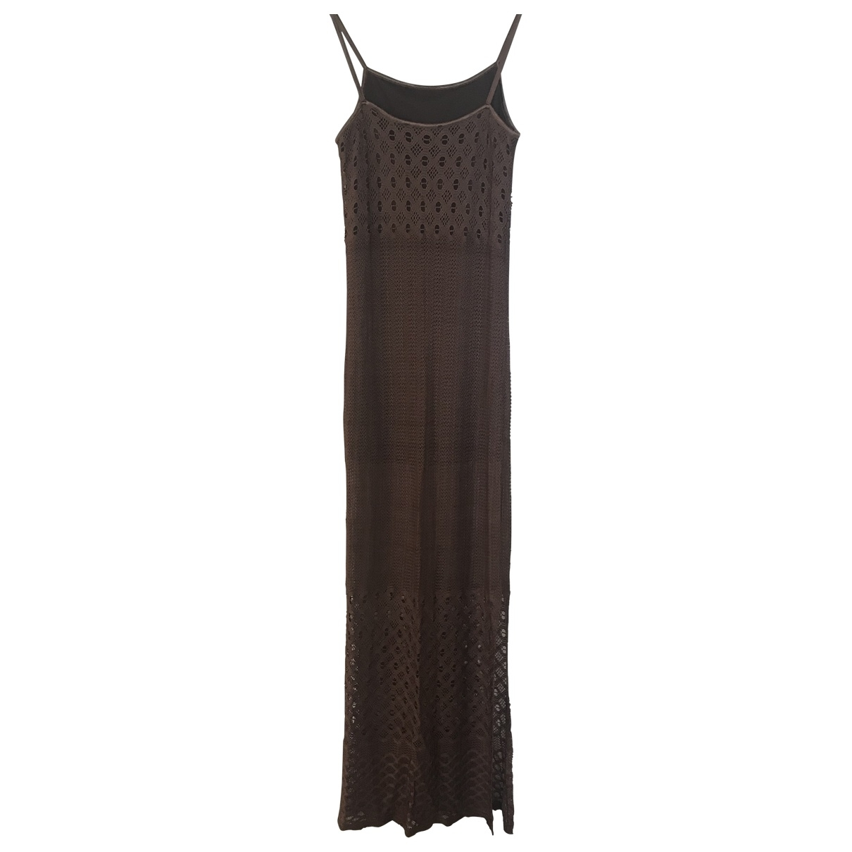 Non Signé / Unsigned \N Brown dress for Women 2 0-5