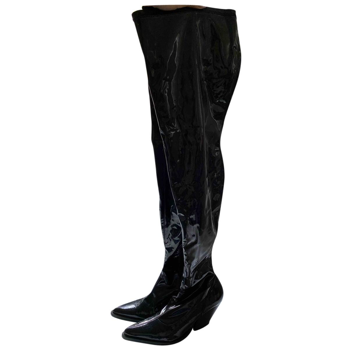 Zara - Bottes   pour femme - noir