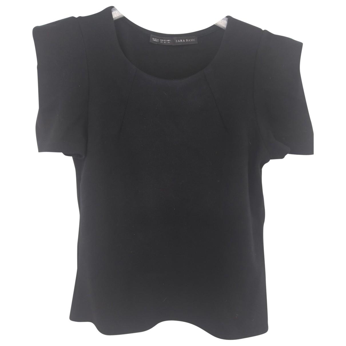 Zara \N Black Cotton  top for Women XS International