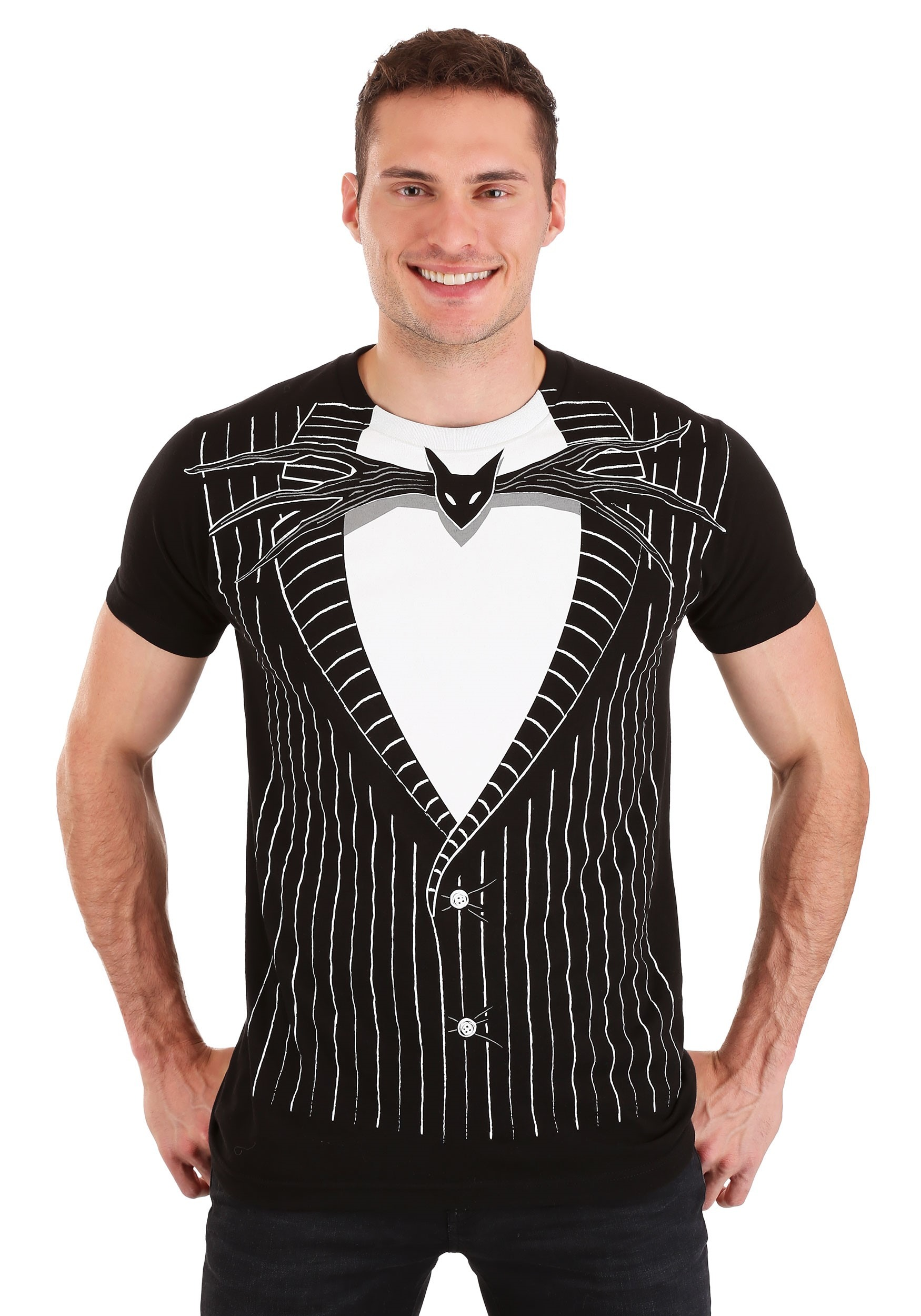 Jack Skellington Costume T-Shirt Nightmare Before Christmas