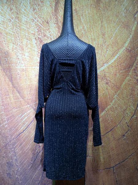 Milanoo Dance Costumes Latin Dancer Dresses Black Women Dancing Wears Outfit Halloween