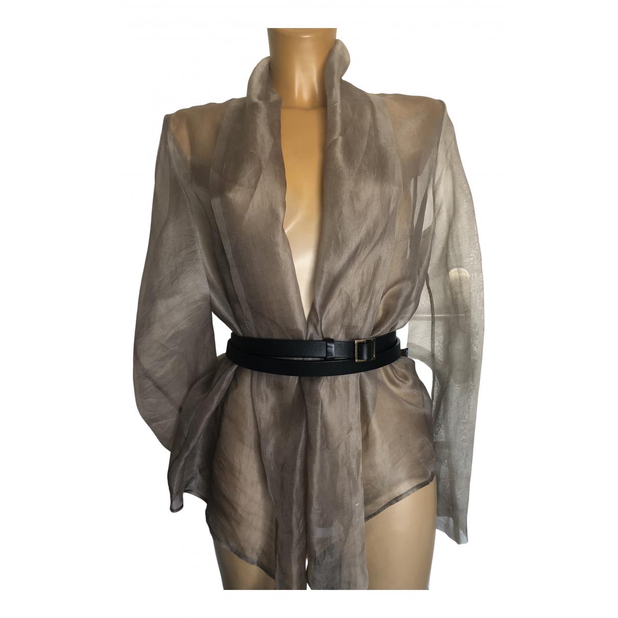 - Top   pour femme en coton - gris