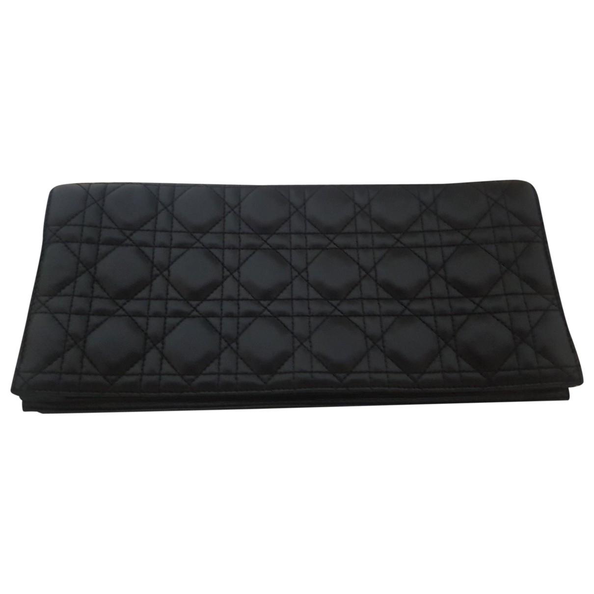 Dior \N Black Leather Clutch bag for Women \N