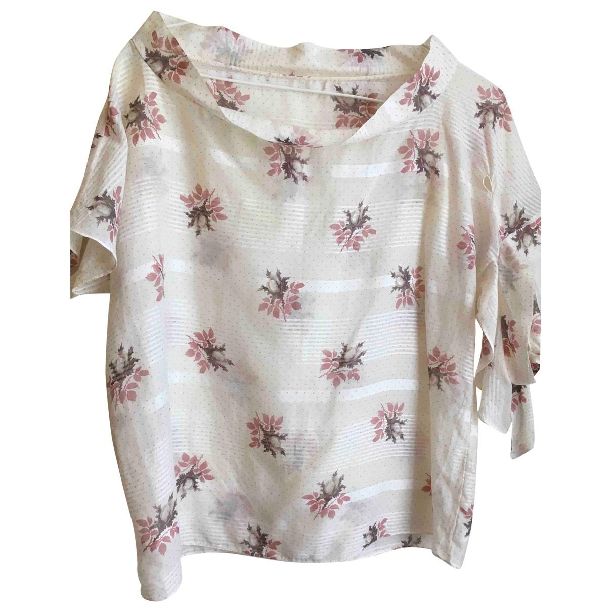 Marni - Top   pour femme en coton - multicolore