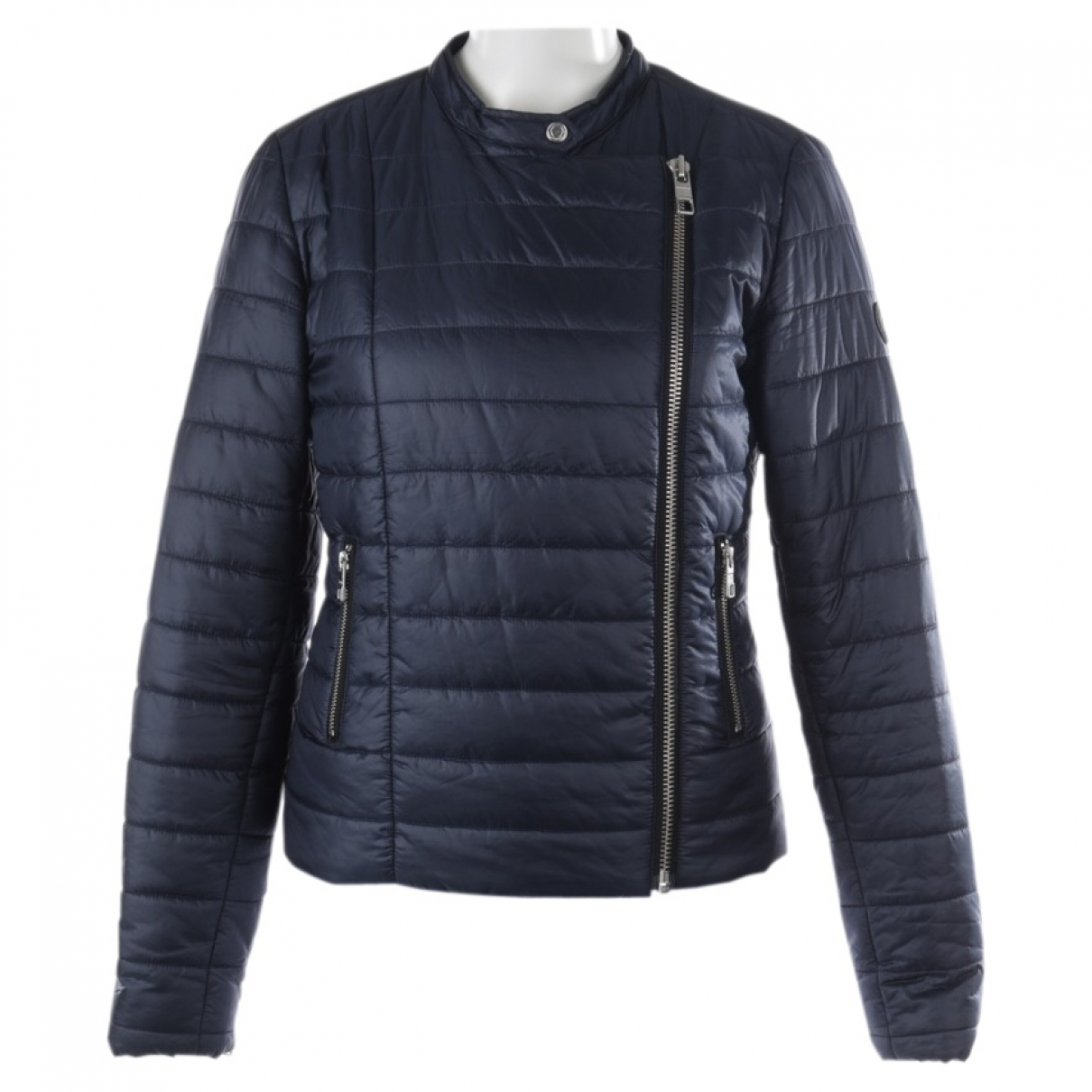 Closed \N Blue Leather jacket for Women M International